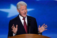 Former President Bill Clinton. Photo / AP
