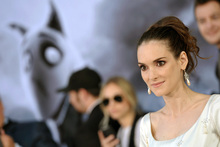 Actress Winona Ryder attends the LA premiere of 'Frankenweenie'. Winona is the voice of Elsa Van Helsing in the Tim Burton animation. Photo / Supplied