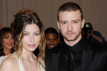 Jessica Biel and Justin Timberlake got married last week.Photo / AP