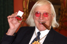 March 25, 2008 file photo of Sir Jimmy Savile. Photo / AP