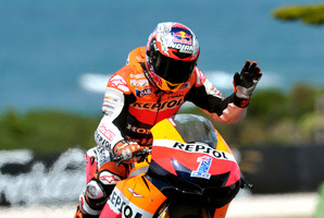 Phillip Island represents an emotional farewell for Casey Stoner. Photo / Andrew Brownbill