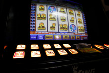 Pokie machines face particular restrictions because they are said to be unusually addictive. Photo / NZ Herald