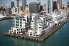 The Hilton Hotel, which sold recently for $40 million, sits on one of New Zealand's most prestigious pieces of real estate. Photo / Richard Robinson