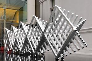 Sopolemalama Filipe Tohi, Aotea (Long White Cloud), 2012, aluminium