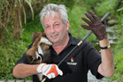 Greg Howard hopes to sell 300,000 possum skin golf gloves a year in the Pacific. Photo / Mark Mitchell