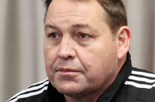 All Blacks coach Steve Hansen. Photo / Geoff Sloan