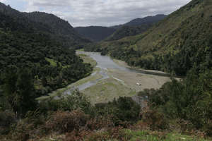 The man went missing in the Urewera National Park on Sunday. Photo / Alan Gibson
