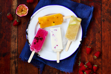 Paleta real fruit Ice Blocks by Jeremy Schmid from Two Fifteen Bistro. Photo / Babiche Martens