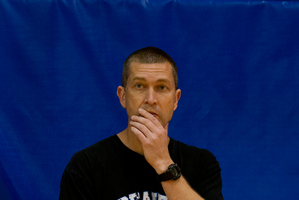 NZ Breakers coach Andrej Lemanis. Photo / Brett Phibbs