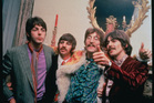 The Beatles - Paul McCartney, Ringo Starr, John Lennon and George Harrison. Photo / File
