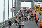 The Auckland Marathon is a unique chance to run across the Harbour Bridge. Photo / Wayne Drought