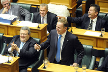 Pointing the finger is all part of the game of politics. Photo / NZPA