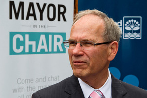 Auckland Mayor Len Brown. Photo / NZPA