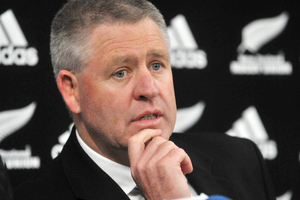 New Zealand Rugby Union boss Steve Tew has backed comments made by All Black coach Steve Hansen that Australia need to develop their own players. Photo / Getty Images.