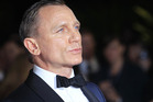 Daniel Craig attends the premiere of Skyfall in London. Photo / AP
