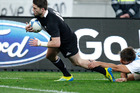 Cory Jane leads the All Blacks with six tries this year. Photo / Mark Mitchell