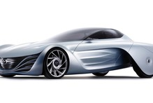 Mazda's rotary-powered Taiki concept. Photo / Supplied