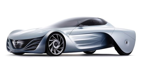 Mazda's rotary-powered Taiki concept. Photo / Supplied