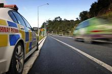 Being caught doing 80 in a 50 zone will get you into trouble - even if it IS Hampden. Photo / file