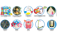 The top toys this year for kids. Photo / NZ Herald