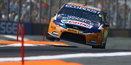 Will Davison during the weekend's Gold Coast 600. Photo / Getty Images