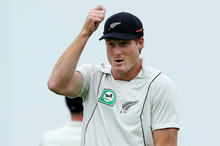Guptill was recently named the country's outstanding cricketer of 2011-12. Photo / Getty
