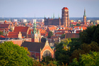 The Old Town of Gdansk, home to Mariacka St, famed for shops selling amber jewellery and decorative items. Photo / Thinkstock
