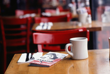 All of the finalists in the Cafe of the Year comp are from regional NZ.Photo / Thinkstock