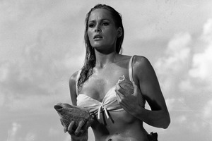 Ursula Andress as Bond girl Honey Ryder in Dr No. Photo / Supplied