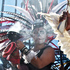 Visitors wearing traditional costumes take part in a procession marking Dia de los Muertos (Day of the Dead) at the Hollywood Forever Cemetery in the Hollywood section of Los Angeles. Photo / AP