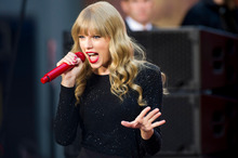 Taylor Swift has dished details about her love life to Cosmopolitan magazine. Photo / AP