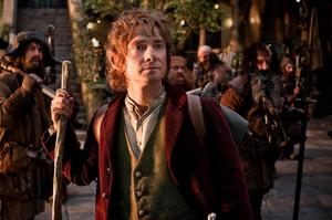 Martin Freeman says Bilbo Baggins is a 'pompous' version of Frodo. Photo / Supplied