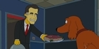 Watch: Mr Burns endorses 'Meat' Romney 