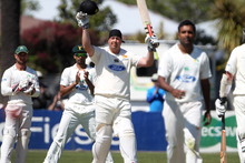 Jesse Ryder has continued his sensational comeback to domestic cricket, by scoring his second century in as many days. Photo / Duncan Brown.