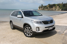 A more slippery profile helps Kia's new Sorento trim refuelling dollars. Photo / Supplied 