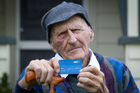 Frank Glavish, who will be 101 next year, says he was glad Marylynn McVeigh didn't go to jail. Photo / Richard Robinson