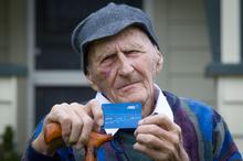 Frank Glavish, who will be 101 next year, says he was glad Marylynn McVeigh didn't go to jail. Photo / Richard Robinson