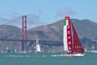 Prada Team Luna Rossa Pirhana. Photo / NZ Herald