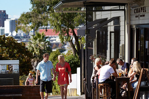 Mayor Len Brown believes Auckland is on track to being a more liveavle city. Photo / NZ Herald