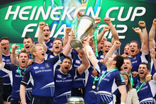 English and French clubs believe the current Heineken Cup format unfairly favours Celtic sides such as Leinster, who have won the competition three of the last four years. Photo / Getty