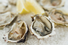 Close-up of oysters served on crushed ice. Photo / Getty