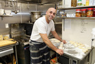 Celine's owner and chef Khaled Masroujeh serves generous portions at reasonable prices. Photo / Doug Sherring