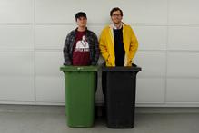 Jarrod Kimber (left) and Sampson Collins. Photo / Supplied