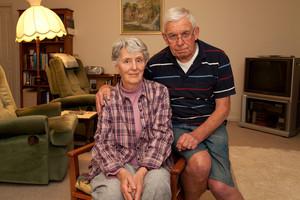 John and Pamela Addis. Photo / Neville Marriner
