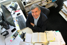 Professor Craig Elliffe, professor of Taxation Law and Policy, pictured at the Owen Glenn building, Auckland Business School. Photo / Chris Gorman