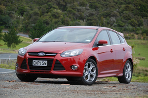 Ford lifts the Focus' performance. Photo / Supplied