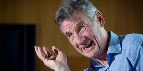When the Michael Palin smile arrives, the Mr Grumpy he claims to be disappears. Picture / Natalie Slade