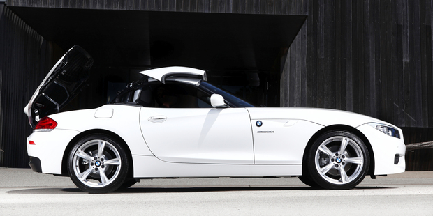 The lighter motor makes the Z4 feel more like thesports car it was intended to be. Photo / Supplied