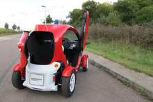 Renault Twizy. Photo / Supplied