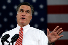 Mitt Romney is a proven man of action. Photo / AP
